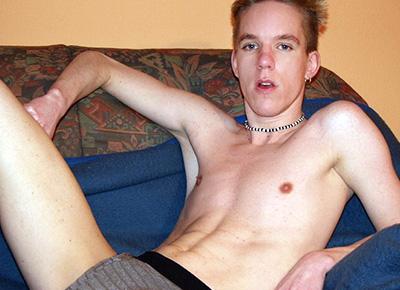 junger schwuler Mann